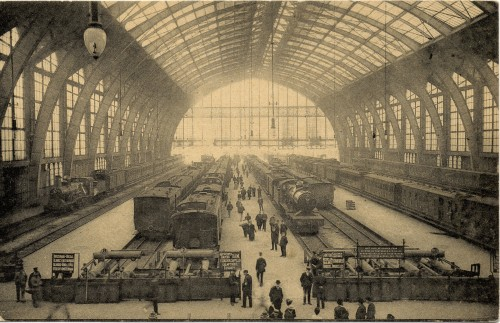 Antwerp Central Station (collection of Guy Demeulder)