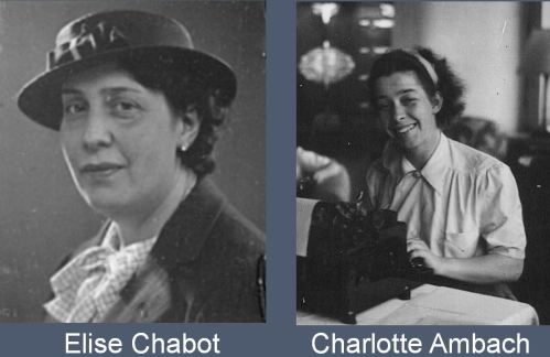 Fig. 7, Elise Chabot and Charlotte Ambach