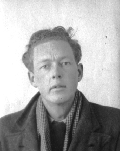 Jan Wolterson as a young man. Photo from daughter Eveline Wolterson.
