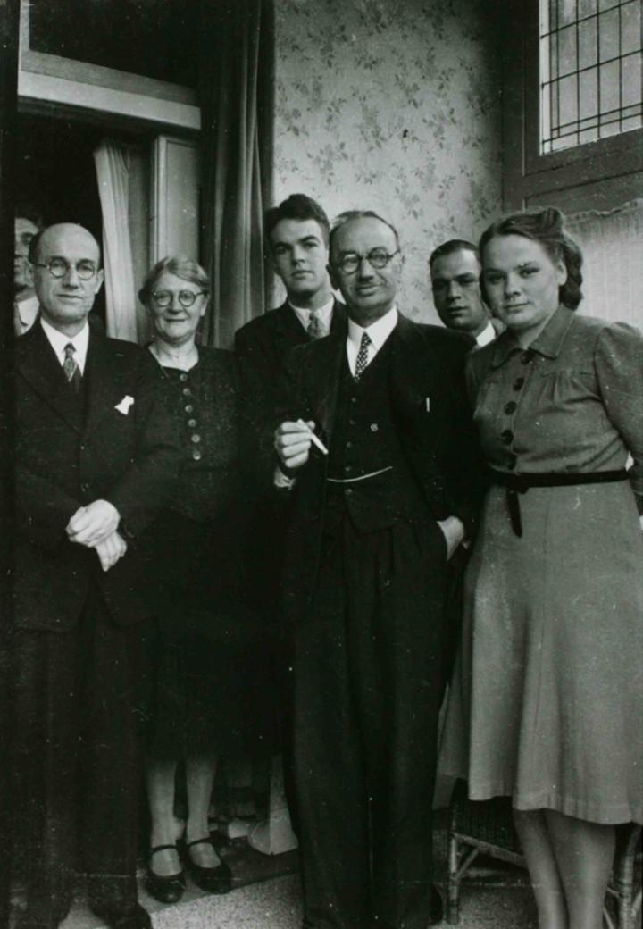 John K. Hurst and the family that hid him.