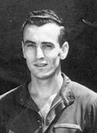 Nello Malavasi from 1943 photo of Wild Hare crew