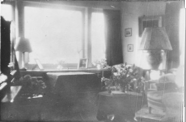 Dining room of Ambach - Chabot apartment.