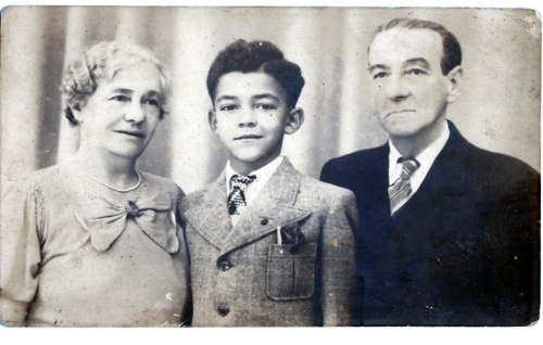 Louis and his grandparents image002