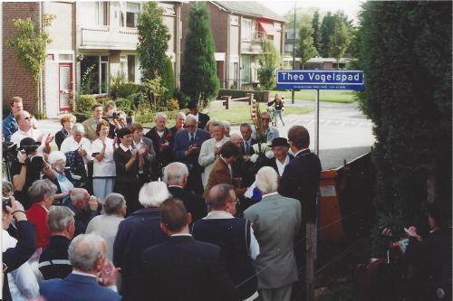 Ceremony opening Theo Vogels street