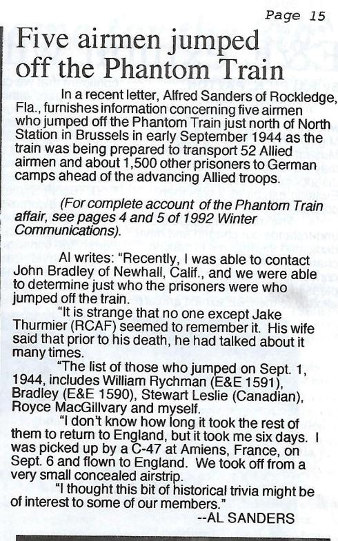 AFEES newsletter Sept 1996