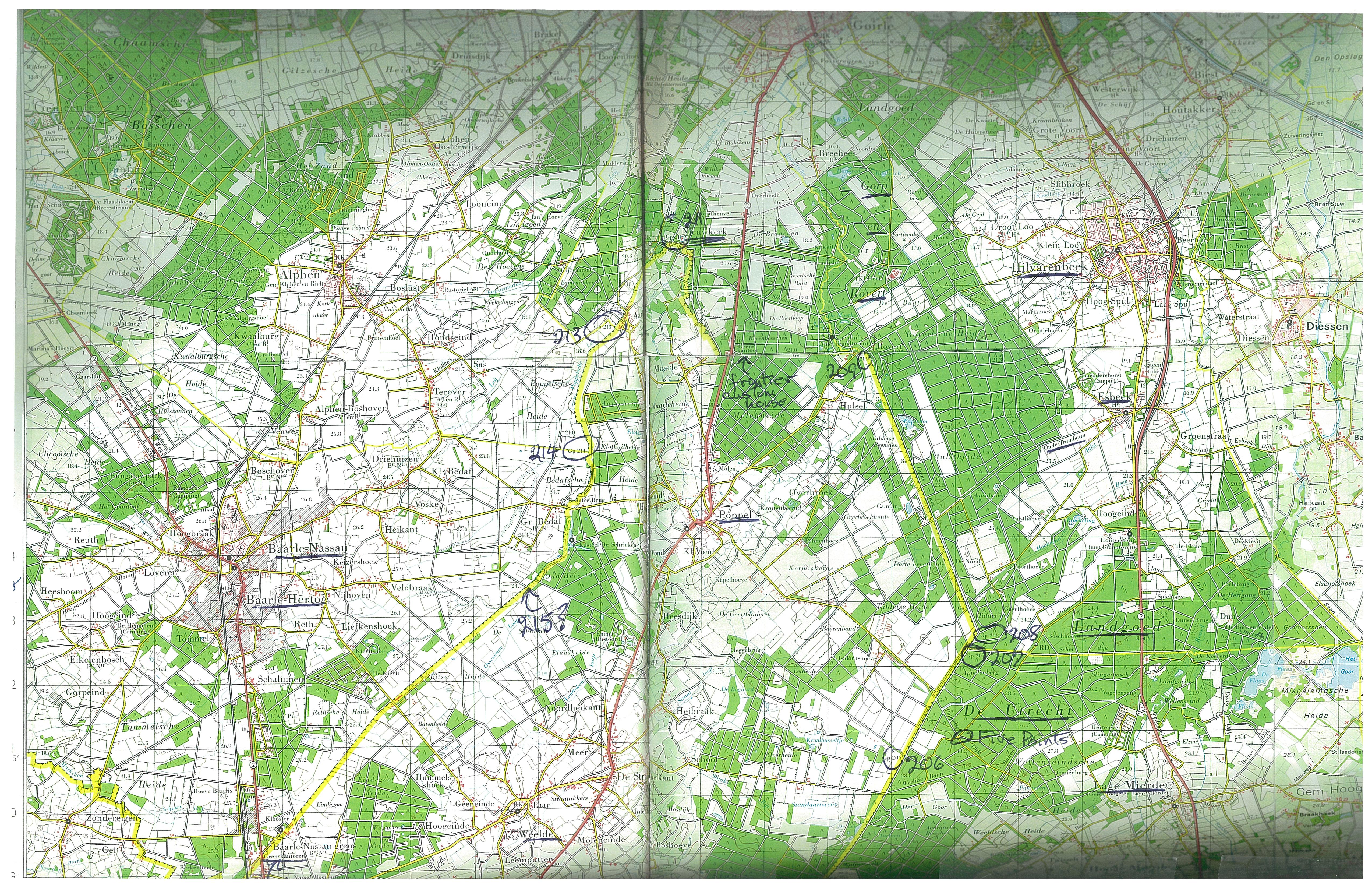 Bruce Smaller Map